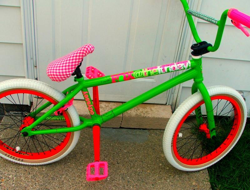 Bmx sunday bikes picnic time