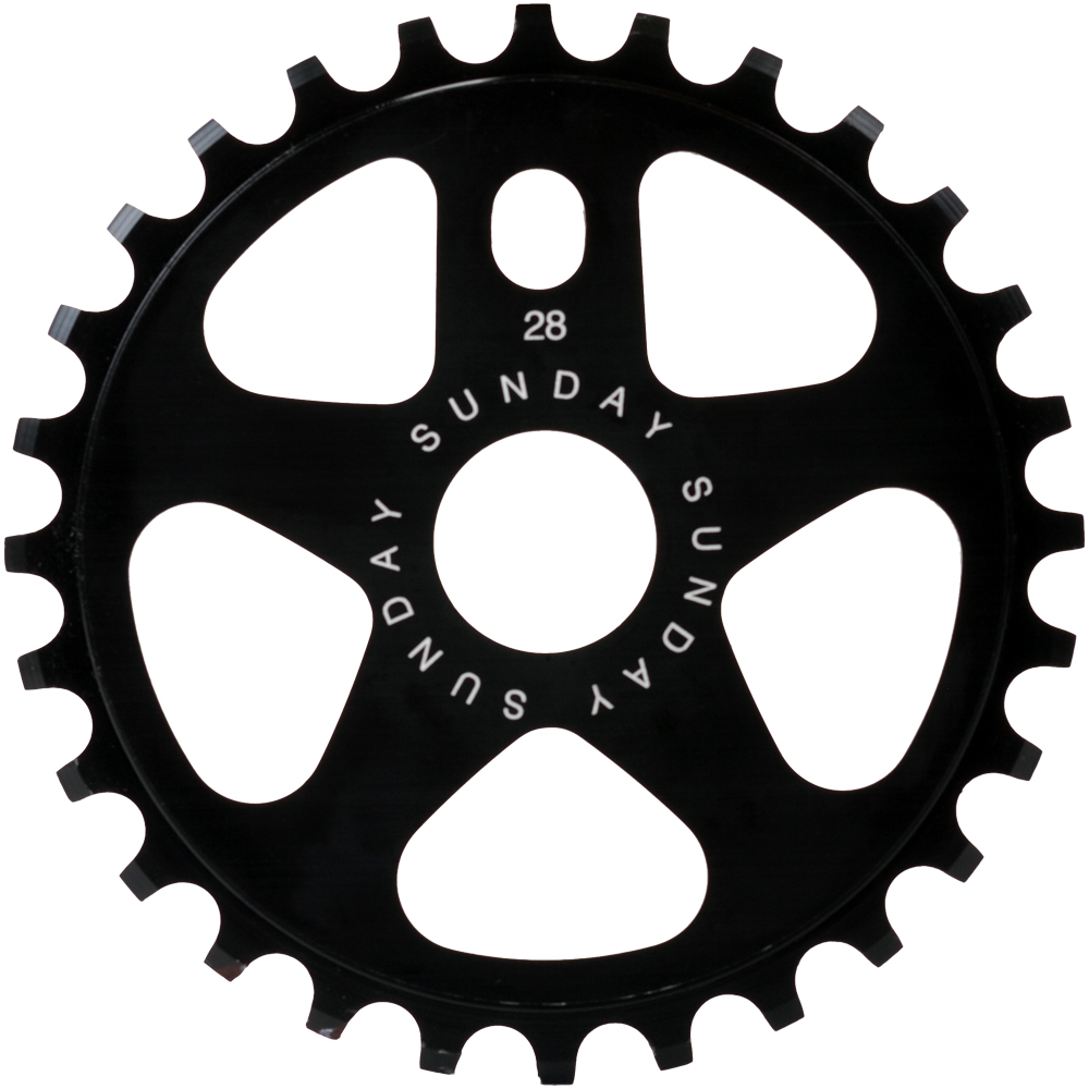 Bike 28 Tooth Sprocket Sunday Sabertooth sprocket
