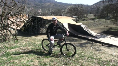 how to go over ramps bmx
