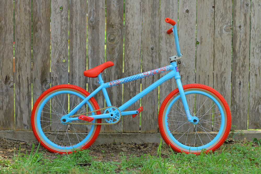 Aaron Ross Latest Creation Sunday Bikes