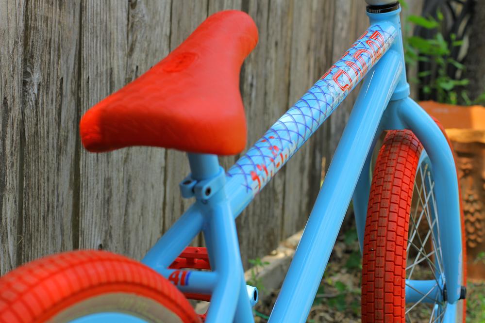 Aaron Ross Bike Check Odyssey Bmx