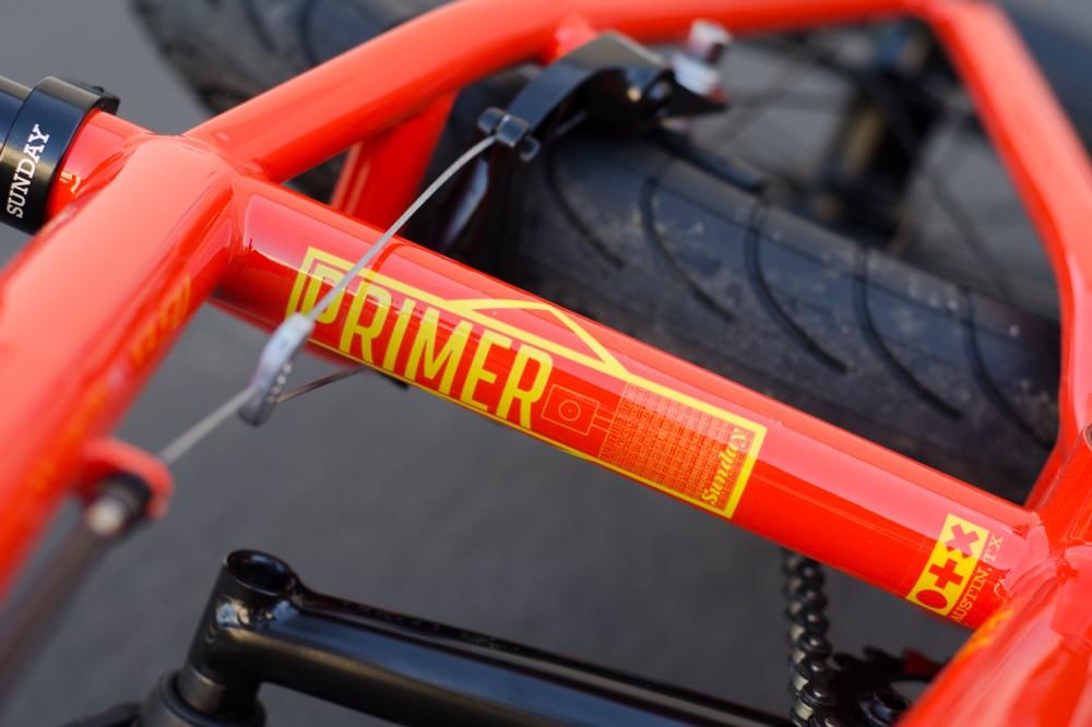 2016 Primer Orange Sunday Bikes