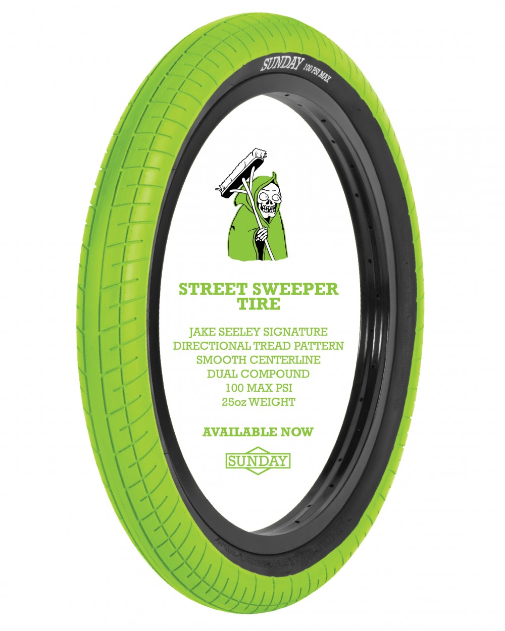 SUNDAY-Street-Sweeper-Tire-Lime-Flyer