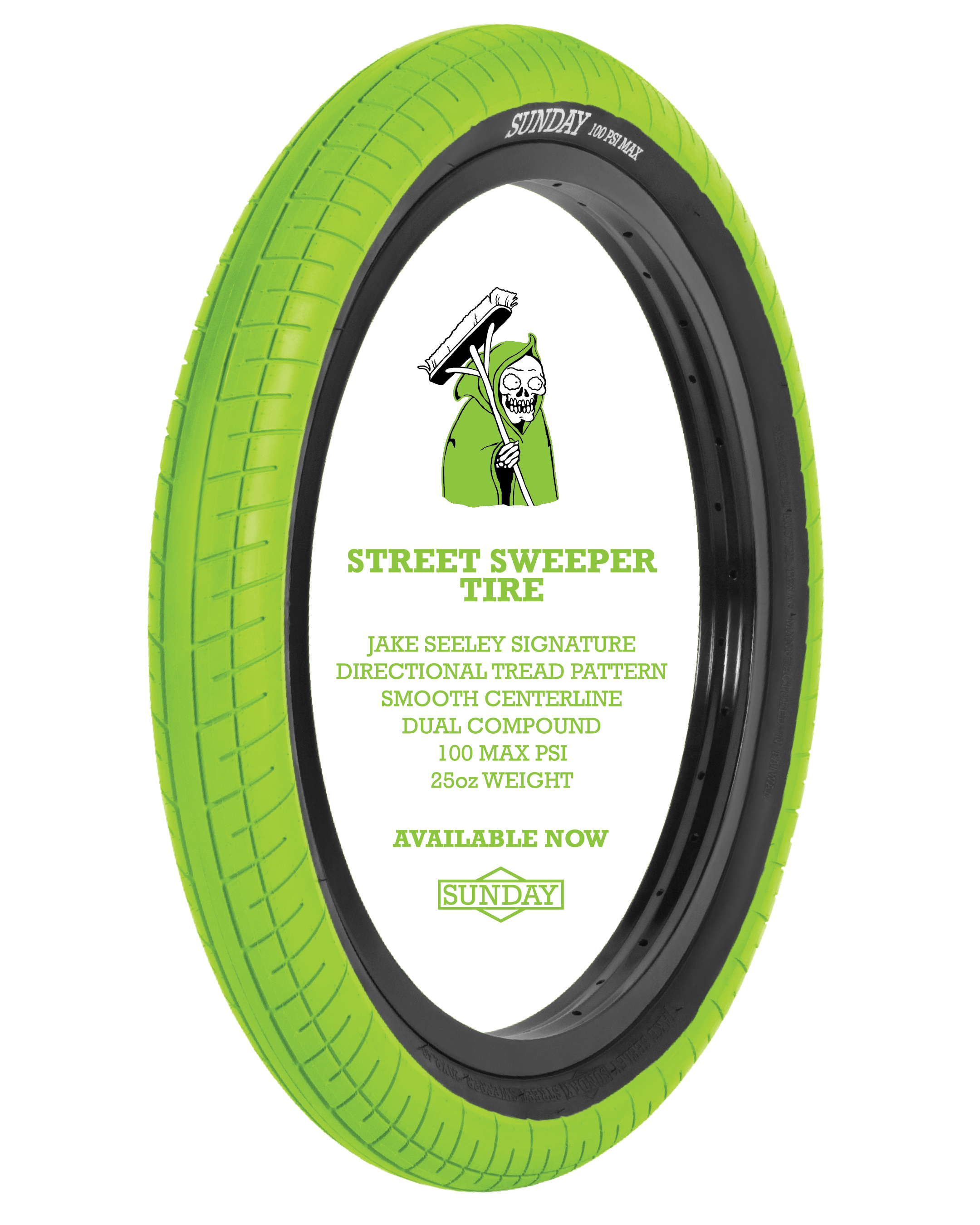 Tire Places Open On Sunday >> Available Now Green Street Sweeper Tires Sunday Bikes