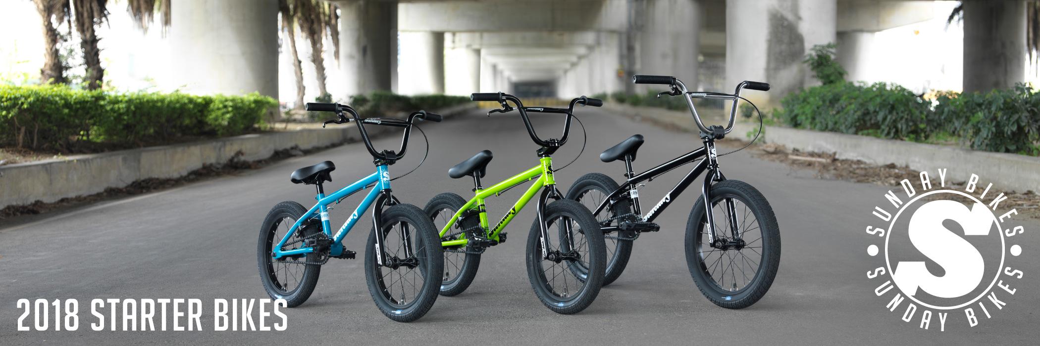 2018 Starter Bikes